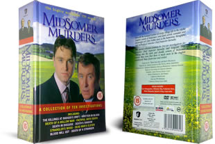 Midsomer Murders DVD A Collection of 10 Investigations