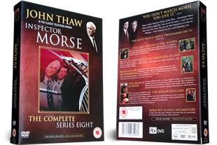 Inspector Morse Series Eight DVD Set