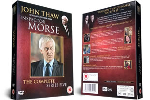 Inspector Morse Series Five DVD Set