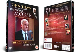 Inspector Morse Series Four DVD Set