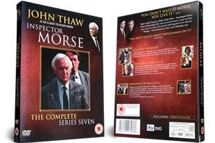 Inspector Morse Series seven DVD Set