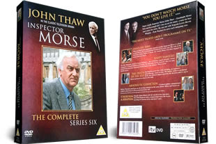 Inspector Morse Series Six DVD Set