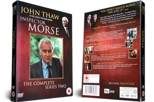 Inspector Morse Series Two DVD