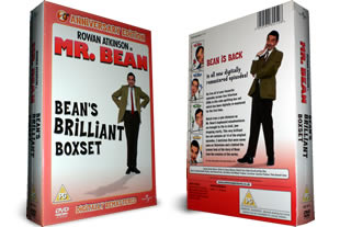 Mr Bean DVD set