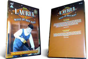Laurel and Hardy Oranges and Lemons and West of Hot Dog dvd