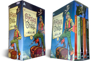 The Pirates Chest dvd boxset