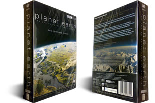 5 DVD BBC Planet Earth DVD Boxset