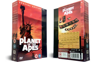 Planet of the Apes DVD Complete Boxset