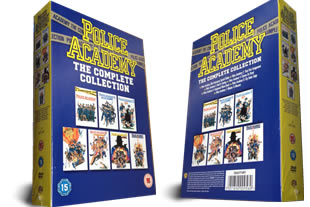 Police Academy dvd collection
