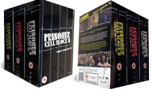 Prisoner Cell Block H Set 3 dvd collection
