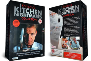 Ramsay's Kitchen Nightmares dvd collection