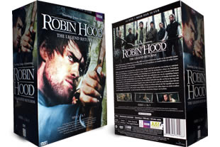 Robin Hood The Legends Returns dvd collection