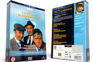 Last of the Summer Wine Series 1 and 2 DVD
