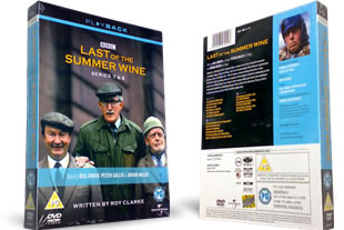 Last of the Summer Wine Series 7 and 8 DVD