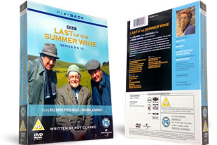 Last of the Summer Wine Series 9 and 10 DVD
