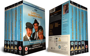 Last of the Summer Wine Series 1-10 DVD