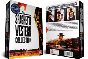 Spaghetti Westerns dvd collection