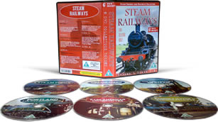Steam Trains DVD Boxset