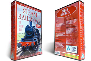 Steam Railways DVD Boxset