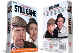 Still Game Series 1-6 DVD Set