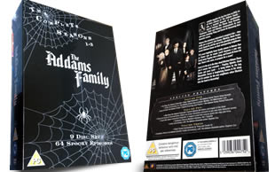 The Addams Family dvd collection