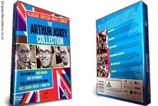 The Arthur Askey dvd collection
