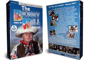 Benny Hill Annuals 1980 dvd collection