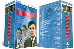 The Champions DVD