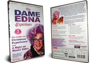 The Dame Edna Experience dvd collection