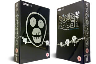 The Mighty Boosh DVD series 1 and 2