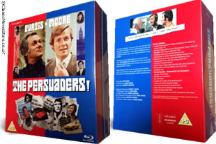 The Persuaders Blu Ray dvd collection