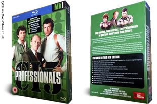 The Professionals Blu Ray dvd collection