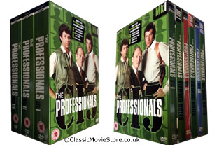 The Professionals dvd collection