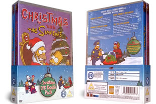 The Simpsons Christmas Dvd.The Simpsons Dvd 4 97 Classic Movies On Dvd From
