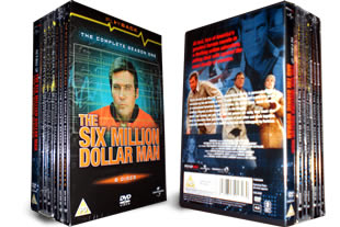The Six Million Dollar Man DVD