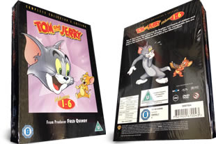 Tom and Jerry dvd collection