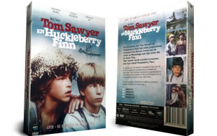 Tom Sawyer and Huckleberry Finn DVD collection