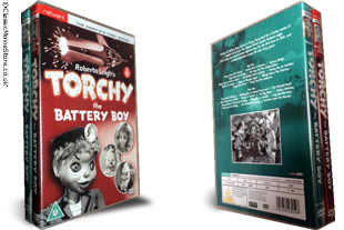 Torchy The Battery Boy dvd collection