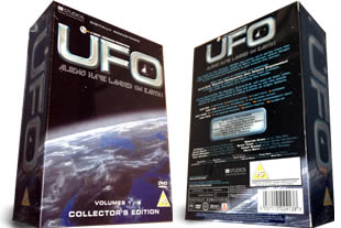 UFO Aliens have landed on earth dvd collection