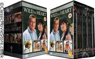 Wild at Heart DVD complete collection of series 1-8 including the