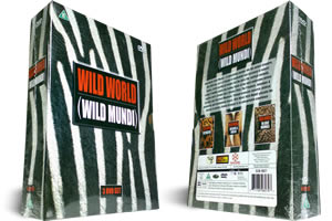 Wild World Wildlife dvd box set