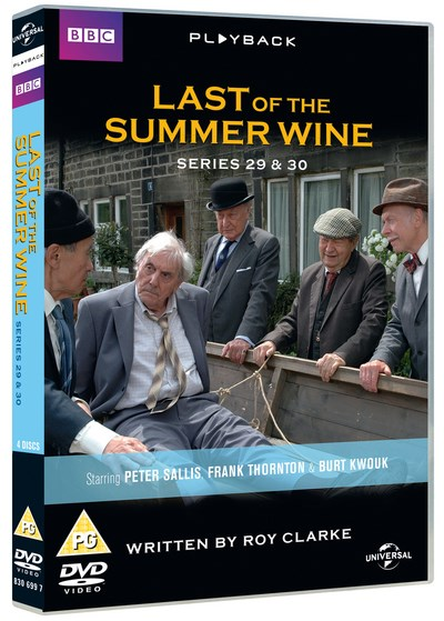 Last of the Summer Wine Series 29 and 30 DVD