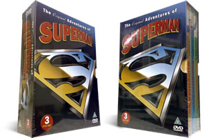 Original adventures of superman dvd
