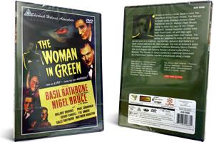 sherlock holmes the woman in green dvd